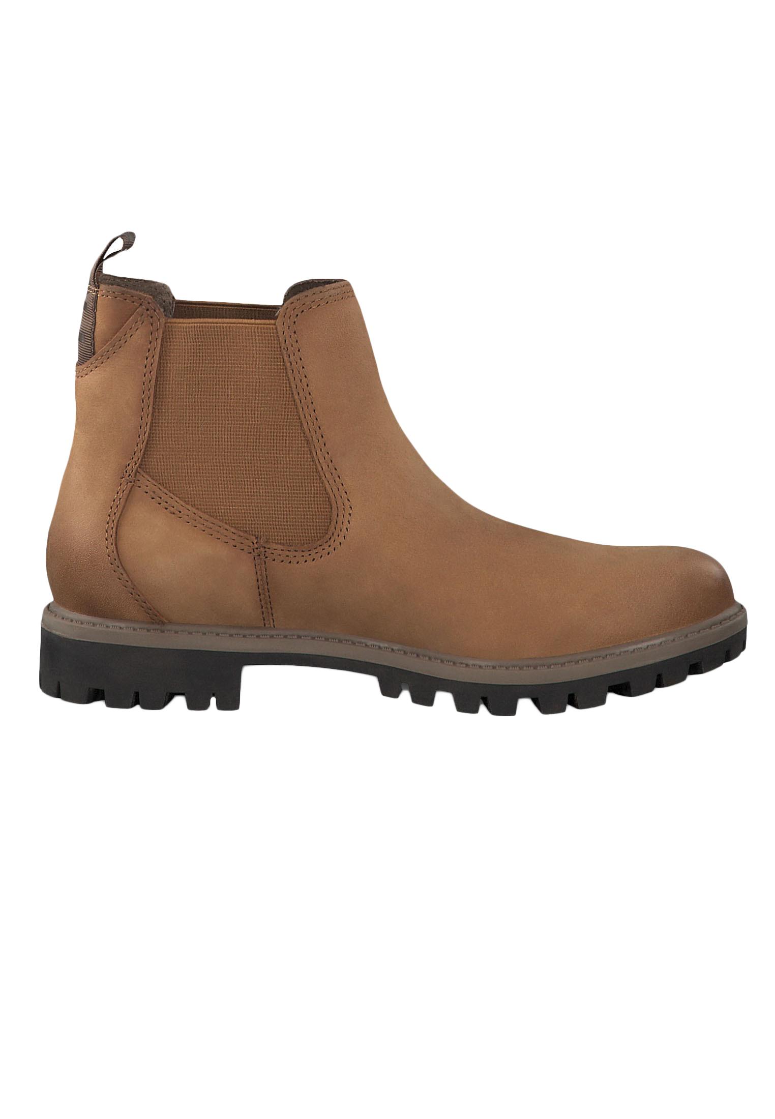 Tamaris 1 25401 23 440 Damen Stiefelette Chelsea Boots Nut