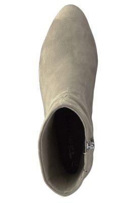 Tamaris 1-25371-23 375 Damen Stiefelette High Heeled Ankle Boot Leder Antelope Beige mit TOUCH-IT Sohle – Bild 4