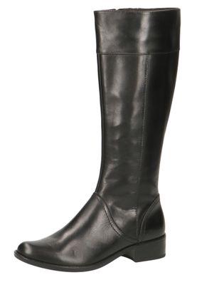 Caprice Damen Leder Stiefel 9-25511-23 022 Black Nappa Schwarz – Bild 1