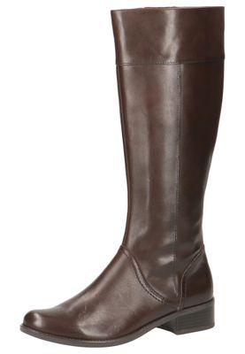 Caprice Damen Leder Stiefel 9-25511-23 323 DK Brown Braun – Bild 1
