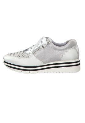 Tamaris 1-23740-33 948 Damen Sneaker Halbschuhe Silver Comb Silber – Bild 2