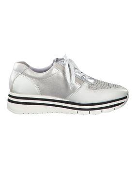 Tamaris 1-23740-33 948 Damen Sneaker Halbschuhe Silver Comb Silber – Bild 5