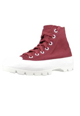 Converse Chucks Weinrot 566284C Chuck Taylor All Star Lugged HI - Dark Burgundy – Bild 1
