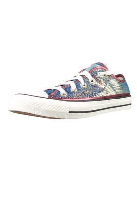 Converse Chucks Plateau Pink 566602C Chuck Taylor All Star OX - Prime Pink Vintage White – Bild 2
