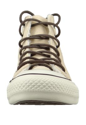 Converse Chucks Beige 566564C Warmfutter Chuck Taylor All Star HI - Light Bisquet Egret Blk – Bild 2