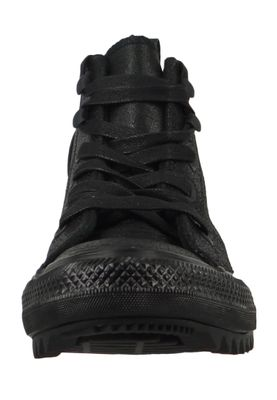 Converse Chucks Schwarz Leder 566111C Chuck Taylor All Star Hiker Waxed Suede Boot HI Black – Bild 5