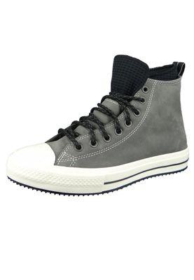 Converse Chucks Grau 166608C Chuck Taylor All Star WP Boot - HI - Carbon Grey Black Egret – Bild 1