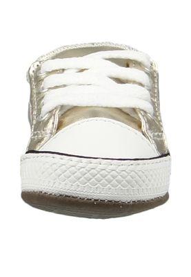 Converse Baby Chucks Gold Chuck Taylor All Star Cribster Metallic Canvas Mid Light Gold Ivory – Bild 6