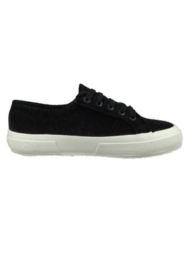 Superga Schuhe Sneaker Schwarz 2750 CORDUROYW Black White – Bild 4