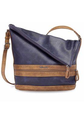 Tamaris Tasche Smirne Hobo Bag Schultertasche Handtasche Blau Navy