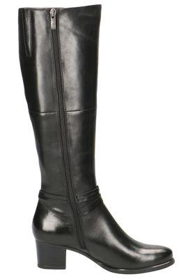 Caprice Damen Leder Stiefel 9-25517-23 022 Black Nappa Schwarz – Bild 5