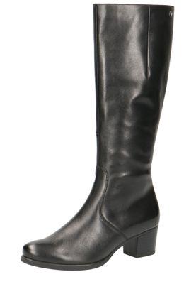 Caprice Damen Leder Stiefel 9-25519-23 022 Black Nappa Schwarz – Bild 1