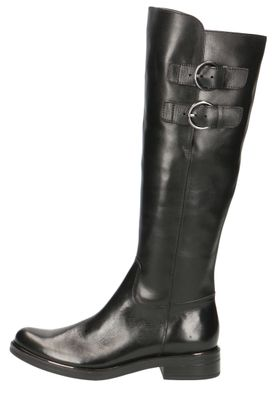 Caprice Damen Leder Stiefel 9-25530-23 022 Black Nappa Schwarz – Bild 2
