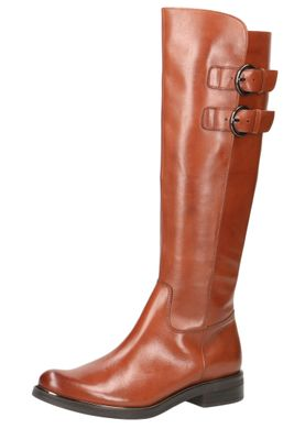 Caprice Damen Leder Stiefel 9-25530-23 303 Cognac Nappa Braun – Bild 1