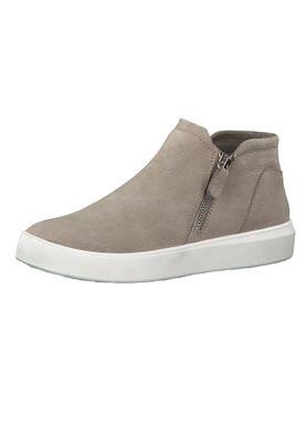 Tamaris 1-24708-23 341 Damen Sneaker Halbschuhe Leder Taupe Beige – Bild 1