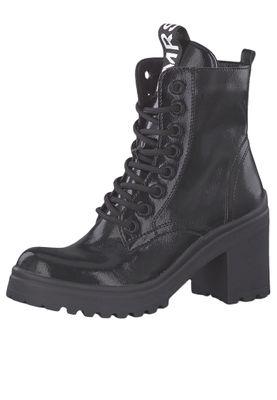 Tamaris 1-25282-23 018 Damen Stiefelette High Heeled Ankle Boot Black Patent Schwarz – Bild 1