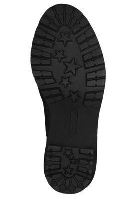 Tamaris Trend 1-25417-23 001 Damen Stiefelette Chelsea Boot Leder Black Schwarz – Bild 4