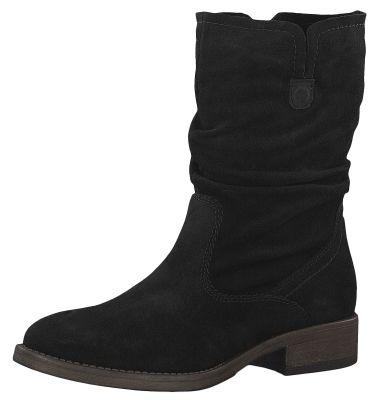 Tamaris 1-25480-23 001 Damen Stiefel Leder Black Schwarz – Bild 1