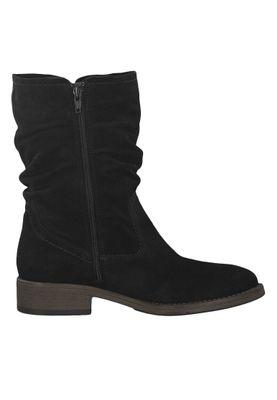 Tamaris 1-25480-23 001 Damen Stiefel Leder Black Schwarz – Bild 3
