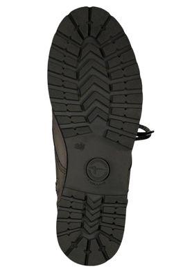 Tamaris 1-26267-23 254 Damen Stiefelette Lace-Up Boots Leder Light Grey Grau mit Warmfutter – Bild 2