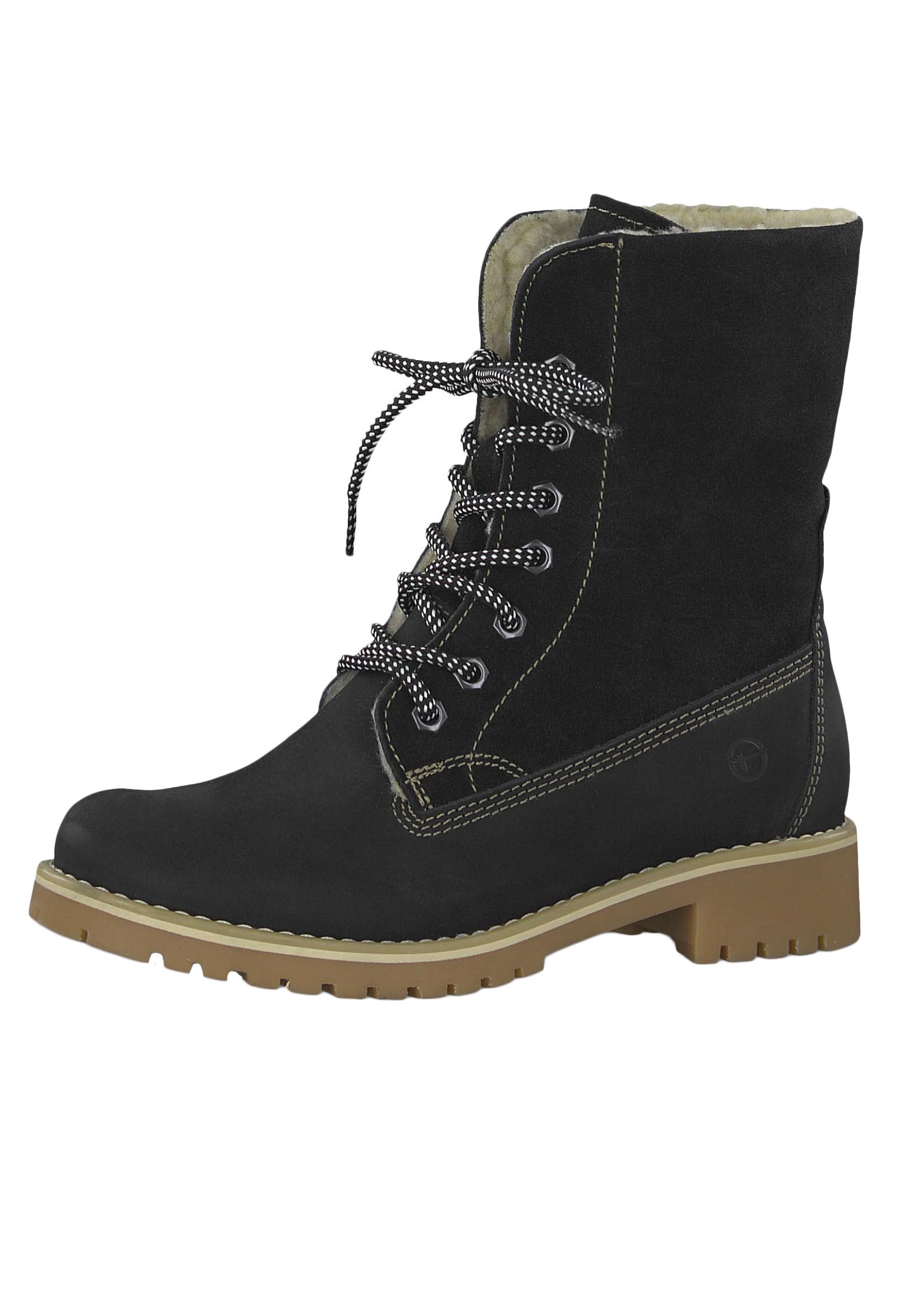 Primaloft 001 Mit 23 Und Schwarz Damen Schnürstiefelette Boots 1 26443 Lace Up Warmlining Tamaris Black XiPkuZ