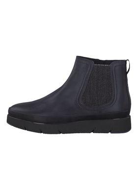 Tamaris 1-25406-23 848 Damen Stiefelette im Chelsea Boot Style Navy Leather Dunkelblau – Bild 3