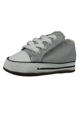 Converse Baby Chucks Grau Chuck Taylor All Star Wolf Grey Natural Ivory White – Bild 1