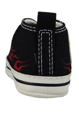 Converse Baby Chucks Schwarz Chuck Taylor All Star Black Freesia True Red – Bild 3