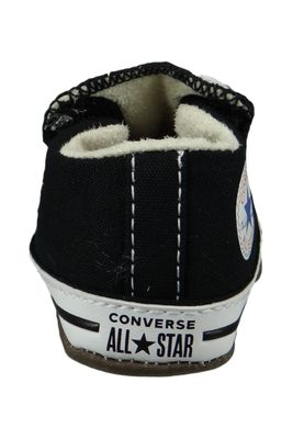 Converse Baby Chucks Schwarz Chuck Taylor All Star Cribster Canvas Color - Mid Black Natural Ivory White – Bild 3