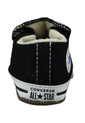 Converse Baby Chucks Schwarz Chuck Taylor All Star Cribster Canvas Color - Mid Black Natural Ivory White – Bild 4