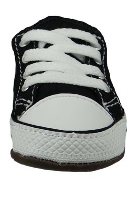 Converse Baby Chucks Schwarz Chuck Taylor All Star Cribster Canvas Color - Mid Black Natural Ivory White – Bild 6