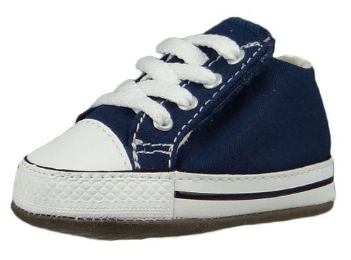 Converse Baby Chucks Blau Chuck Taylor All Star Cribster Canvas Color - Mid Navy Natural Ivory White – Bild 1