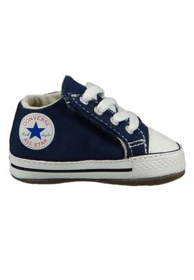 Converse Baby Chucks Blau Chuck Taylor All Star Cribster Canvas Color - Mid Navy Natural Ivory White – Bild 4