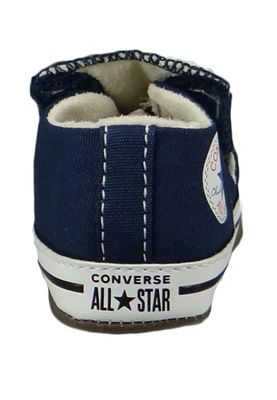 Converse Baby Chucks Blau Chuck Taylor All Star Cribster Canvas Color - Mid Navy Natural Ivory White – Bild 3