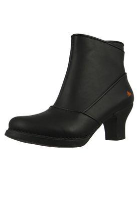 Art Leder Stiefelette Ankle Boot Harlem Schwarz Black 0945 – Bild 1
