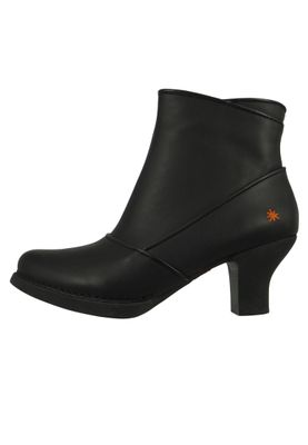 Art Leder Stiefelette Ankle Boot Harlem Schwarz Black 0945 – Bild 2