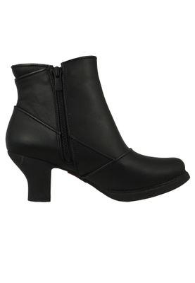 Art Leder Stiefelette Ankle Boot Harlem Schwarz Black 0945 – Bild 4