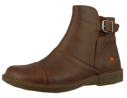 Art Leder Stiefelette Ankle Boot Bergen Brown Braun 0917 – Bild 1