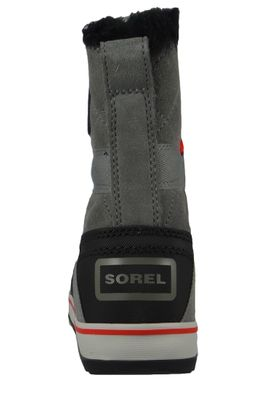 Sorel Damen Winterstiefel Boot NL2079-054 GLACY EXPLORER SHORTIE Gefüttert Quarry Grau – Bild 4