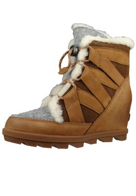 Sorel Damen Keil-Stiefelette Joan of Artic Wedge II Cozy Camel Brown Braun NL3361-224 – Bild 2