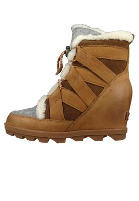 Sorel Damen Keil-Stiefelette Joan of Artic Wedge II Cozy Camel Brown Braun NL3361-224 – Bild 3