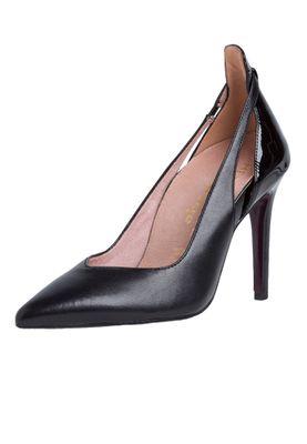 Tamaris 1-22402-24 075 Damen Black Patent Schwarz High-Heel Pumps – Bild 2