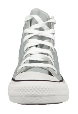 Converse Chuck Grau 166705C Chuck Taylor All Star Seasonal HI Wolf Grey – Bild 4