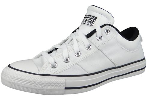 Converse Chuck Weiß 166964C Chuck Taylor All Star CS OX White White Black – Bild 1