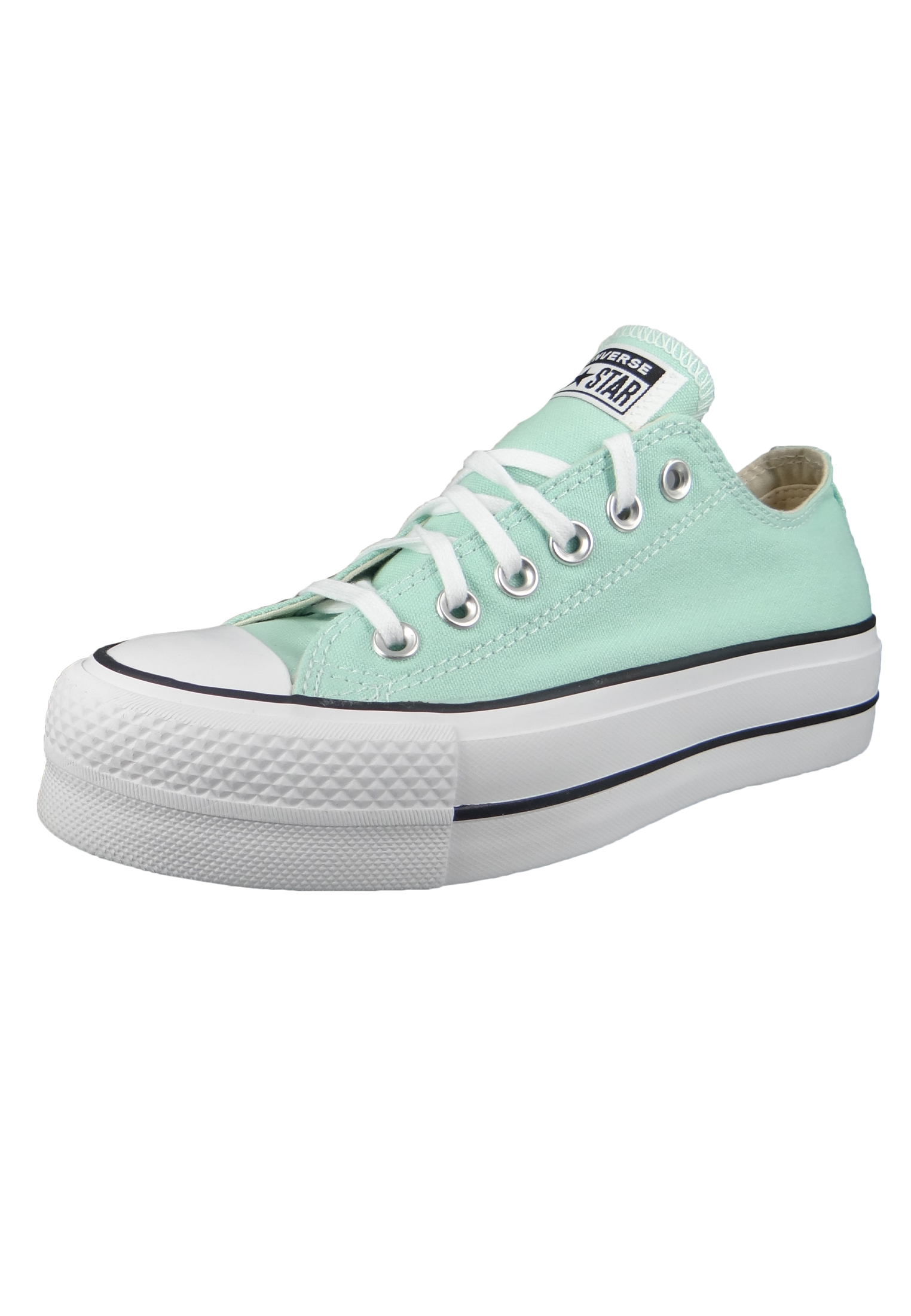 Converse Chucks Plateau Mint 566758C Chuck Taylor All Star