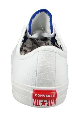Converse Chucks 566772C Weiß Chuck Taylor All Star Dainty Double License Plate - OX - White – Bild 5