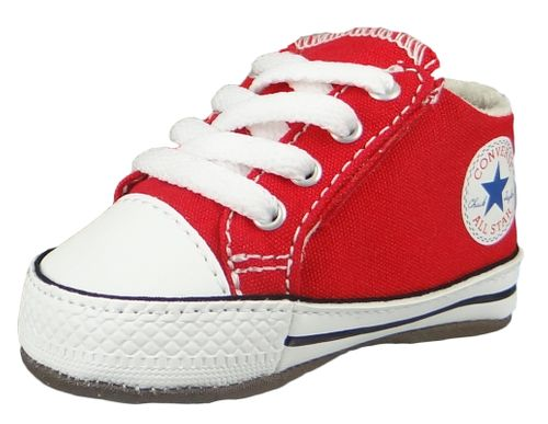 Converse Baby Chucks Rot Chuck Taylor All Star Cribster Mid University Red – Bild 1