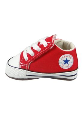 Converse Baby Chucks Rot Chuck Taylor All Star Cribster Mid University Red – Bild 3