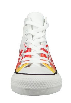 Converse Chuck Weiß 166257C Chuck Taylor All Star - WHITE/ENAMEL RED/FRESH YELLOW – Bild 3