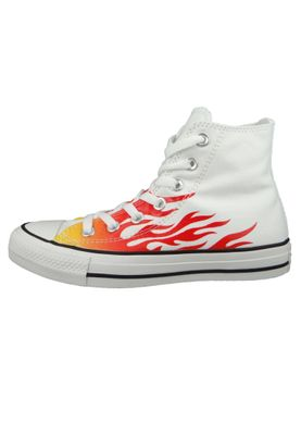 Converse Chuck Weiß 166257C Chuck Taylor All Star - WHITE/ENAMEL RED/FRESH YELLOW – Bild 5